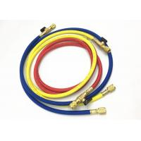 Best Air Conditioning Service Freon Refrigerant Hoses With Ball Valves For R410A wholesale
