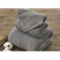 China Embroidered Hotel Collection Hand Towels / Colorful Bathroom Hand Towels on sale