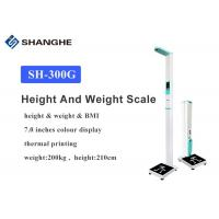 Best AC100V - 240V Smart Bluetooth Body Fat Scale , Bmi Index Scale With Printer wholesale