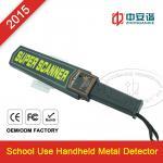 Best Rechargeable Handheld Metal Detector , Hand Held Body Scanner FCC ROHS wholesale