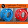 China 19.5x6.00  19.5x6.75  19.5x7.25  19.5x8.50   Blue  Red Steel Truck Wheel wholesale