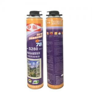 Best S280 Liquid Polyurethane Foam Spray High Density for Door Use , Gap Filling wholesale