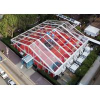Buy cheap Big Transparent Clear Span Tents With Clear Top For EXhibition / Parties product
