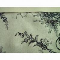 China Printed Linen/Rayon Blended Fabric with Fashionable Style and 202gsm Weight on sale