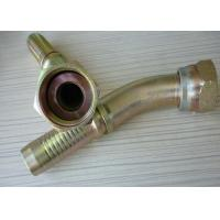 Best Carbon Steel BSP Pipe Fittings , Swaged Gas Pipe Fittings 90 Degree Flat Seat wholesale