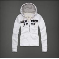 China Abercrombie&fitch women hoody size S-XL black white red colors on sale