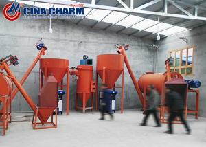 China Simple 4t/H Dry Mix Mortar Production Line With Packing Machine on sale