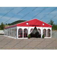 Best Colorful Waterproof Alumunium PVC Tent  Plain White Sidewalls for  Party wholesale
