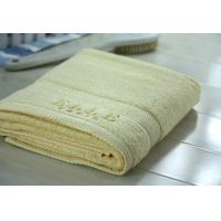 China 100% cotton embroidery terry bath towel on sale