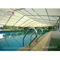 Best Aluminum and PVC tent for Sports Court, structure tent for swimming pool, swimming pool shade tent from LIRI TENT wholesale