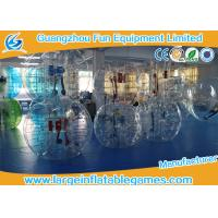 Best TPU Adult Inflatable Bubble Ball Games For Soccer Bubble Club wholesale