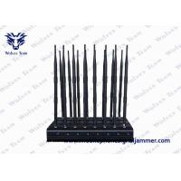 Buy cheap Newest Design 18 Antennas All in One Cell Phone Signal Jammer , GPS WiFi 5.2g. 5 from wholesalers