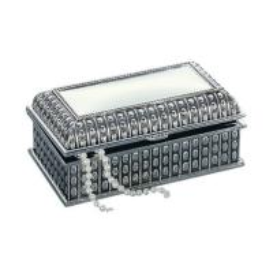 China Handmade Necklace Jewelry Box Silver Trinket Box for Girls,Jewelry Case,Jewelry Box Antique,Jewelry Box Tiffany on sale