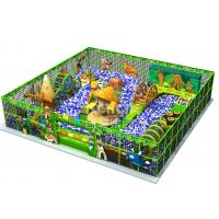 Best Ball Pits Theme Indoor Play Area Equipment / Children Indoor Playground 13.75*10*10m Size wholesale