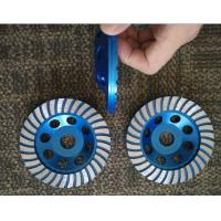 Best 5inch 125mm Turbo Cup Wheel , 5 Diamond Grinding Disc For Concrete wholesale
