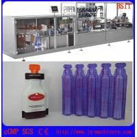 China E-liquid/E-juice/E-cigarette/vape standard plastic bottle forming and filing and sealing machine on sale