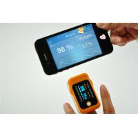 Best OLED screen Finger Pulse Oximeter Bluetooth 4.0 for iPhone Samsung CE approve wholesale