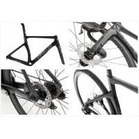 Buy cheap 142 * 12mm QR Carbon Fiber Road Frame , Road Race Bike Frames With Disc Brake from wholesalers