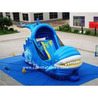 China 7x4m Boat Shape Inflatable Bounce House Combo Children Ca 6x3m Kids Outdoor on sale