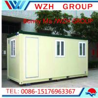 China Low Cost Prefabricated Security Guard House/Cabin Portable Houses on sale