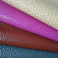 China Leather for shoes and bag, 0.8 to 1.0mm thickness on sale
