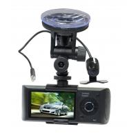 China 1920 x 1080 Full HD GPS Dual Camera Car DVR H.264 , 4X Digital Zoom on sale
