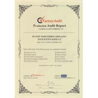 Plyfit Industries China, Inc. Certifications