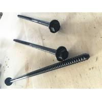 Best Concrete Forming Coil Bolt Metal Fasteners 300mm Length Black Finish Surface wholesale