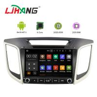 Built - In GPS Navigation System Hyundai Car DVD Player Mirror Link Support