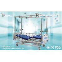 Best Strong Durable Orthopedic Adjustable Bed Stainless Steel Frame With Central Locking Castors wholesale