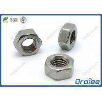 Best 304 Stainless Steel DIN934 Hex Nuts wholesale