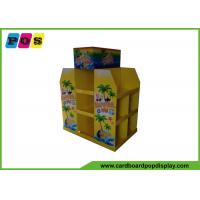 Supermarket Promotion Retail Pallet Displays , Cardboard Display Stands For Beach Sand Toys PA019