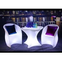 Best PE Swimming Pool Outdoor Furniture With LED LightingCustomized Colors wholesale