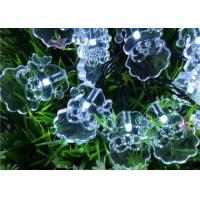 Buy cheap Santa Solar LED String Lights , 4.8M White / Multicolor Xmas Tree Lights from wholesalers