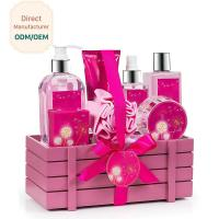 Best Princess Aromatic Body Care Bath Gift Set / Shower Gift Sets For Women wholesale