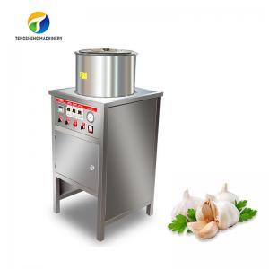 Skin Peeling Air Compressor Garlic Processing Machine Garlic Root Shallots