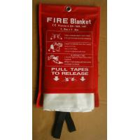 China White Fiberglass Fire Blanket Environmental Friendly Fiberglass Welding Blanket on sale