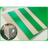 Best 1.2MM Green Colored Book Binding Board For Making File Box Or File Holder wholesale