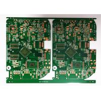 China HDI FR4 Rigid Flex Circuit Board Green Soldermask 2OZ Copper With Immersion Gold on sale