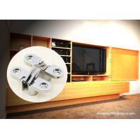 China TV Cabinet Small Soss 180 Degree Cabinet Hinge , Invisible Hinges Cross Hidden Hinge on sale