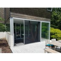 Best Roll left & right Retractable flyscreens for window and door wholesale
