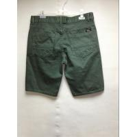 Best Army Green Casual Style Mens Short Twill Pants , Mens Cargo Shorts Pants wholesale