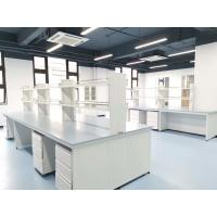 Best Epoxy Resin Lab Furniture ountertops for Center Bench / Blue Color wholesale