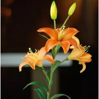 China real touch PU artificial lily flowers cyu-wl-ll-003 on sale