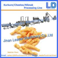 Best High quality Automatic Kurkure/Cheetos Snacks food processing Equipment wholesale