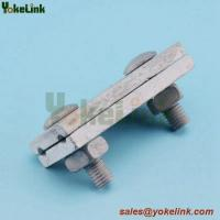 Best High quality Galvanized steel Guy Clamp With Straight Parallel Groove wholesale