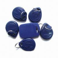 Best Plastic RFID Key Fobs, 0.8 to 1.2mm Thickness wholesale
