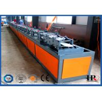 China Double Layer Insulated Rolling Shutter Door Making Machine 5T Hydraulic Decoiler on sale