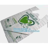 cornstarch biodegradable bag, dog waste bag, compostable bag for home and community, Kitchen Custom Printed Plastic Comp