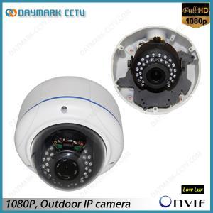 Best Vandalproof 2 Megapixel HD Dome IP Camera 2.8-12mm Varifocal Lens Onvif Compatible wholesale